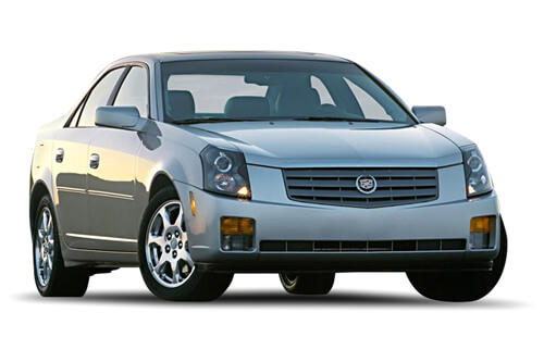 Car Shades Cadillac CTS 4 door 02-07 Full Rear Set