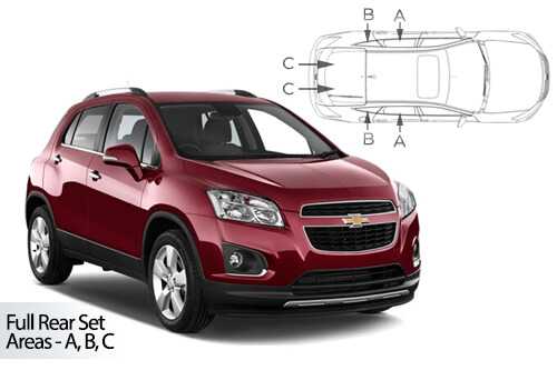 Car Shades Chevrolet	Trax	4 Door 12> Full Rear Set