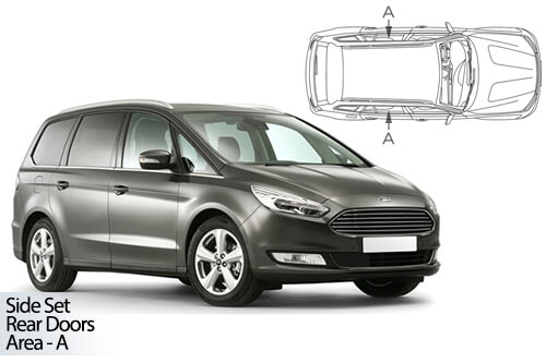 Car Shades Ford Galaxy 5dr 15> Rear Door Set