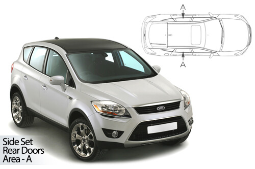 Car Shades Ford Kuga 5 door 08-12 Rear Door Set