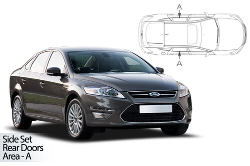 UV Car Shades - Ford Mondeo 5dr 07-14 Rear Door Set