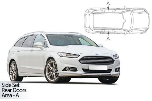 Car Shades Ford Mondeo Estate 15> Rear Door Set