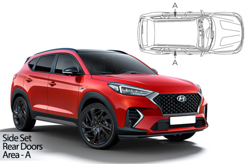 UV Car Shades - Hyundai Tucson 5dr 2019> Rear Door Set
