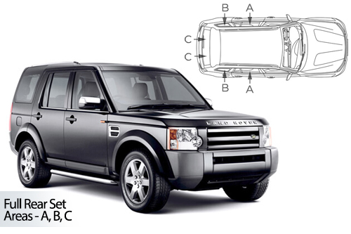 Car Shades Land Rover Discovery 3 and 4 5 dr 04-16 Full Rear Set