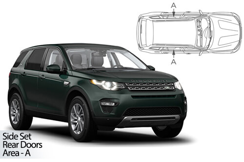 Car Shades Land Rover Discovery Sport 5dr 15> - Rear Door Set