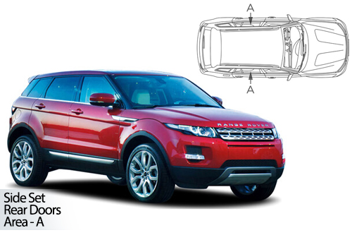 UV Shades - Land Rover Range Rover Evoque 5dr 11> Rear Door Set
