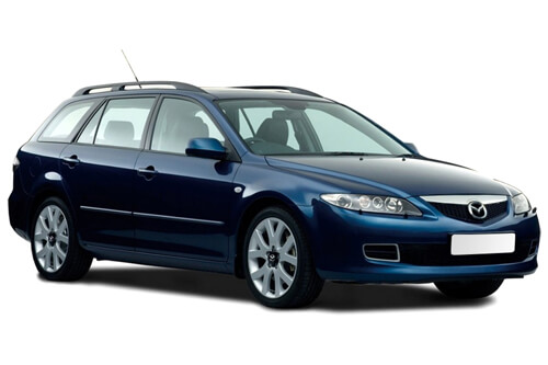 Car Shades Mazda 6 Estate	02-07 Full Rear Set
