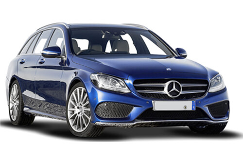 UV Car Shades (Set of 8) Mercedes C-Class Estate 2014>