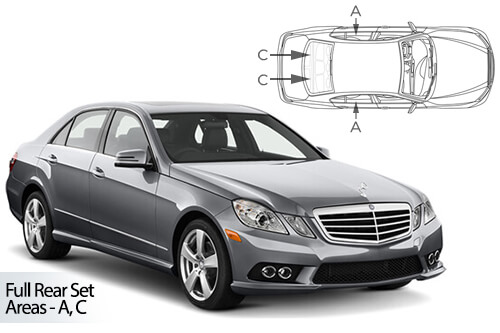 Car Shades Mercedes E-Class 4dr 09-16 W212 Full Rear Set
