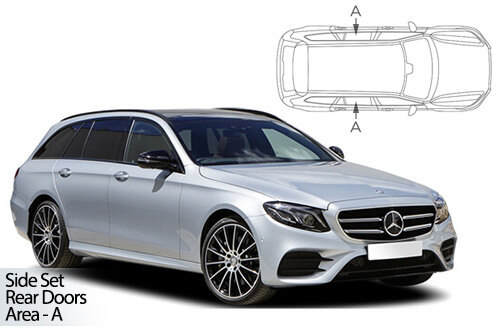 UV Car Shades - Mercedes E Class Estate (W213) 16> Rear Door Set