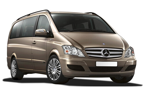 UV Car Shades Mercedes Vito 03-14 - SWB