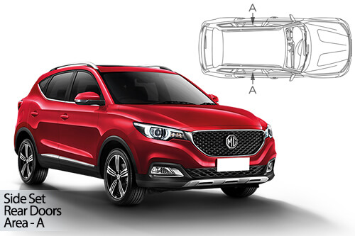 Car Shades MG HS 5dr 2019> Rear Door Set