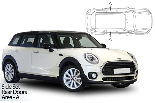 Car Shades Mini	Clubman 3 Door	14> Rear Door Set