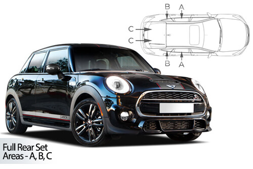 Car Shades Mini	Hatch 5 Door 14> Full Rear Set
