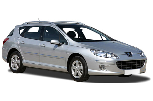Car Shades Peugeot 407 Estate 04-10 Full Rear Set