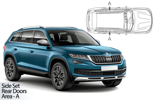 UV Car Shades - Skoda Kodiaq 5dr 2016> Rear Door Set