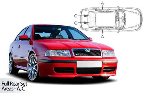 Car Shades Skoda Octavia	5 door 97-04 Full Rear Set