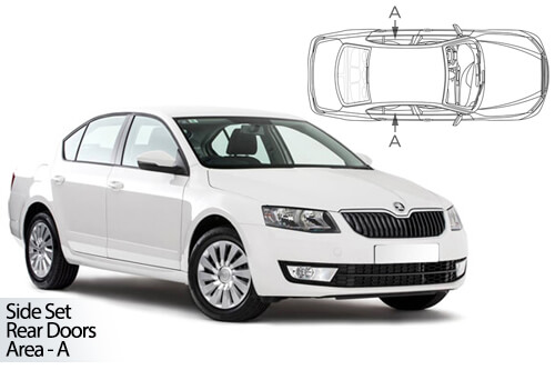 UV Privacy Car Shades - Skoda Octavia 5dr 13> Rear Door Set