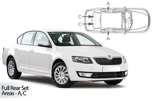 Car Shades Skoda Octavia 5 door 13> Full Rear Set