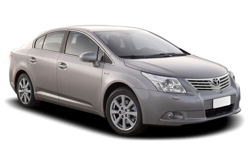 Car Shades Toyota Avensis	4 door 09> Full Rear Set