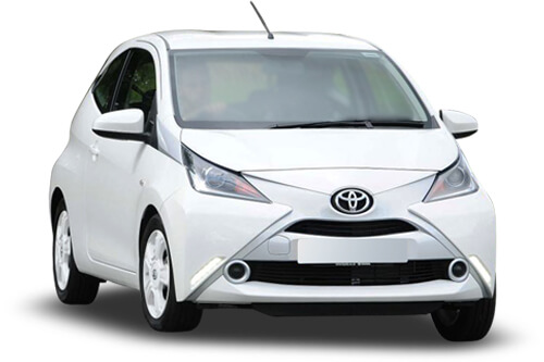 UV Car Shades (Set of 4) Toyota Aygo 3dr 2014>