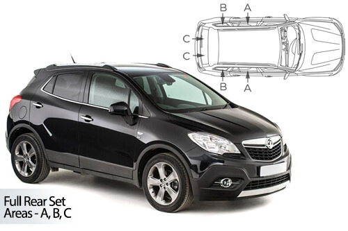 Car Shades Vauxhall Mokka 5 door 12>20 Full Rear Set