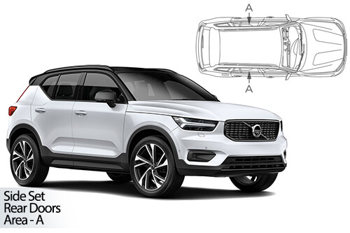 Car Shades Volvo XC40 5dr 2018> Rear Door Set