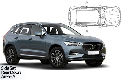 UV Car Shades - Volvo XC60 5dr 2017> Rear Door Set