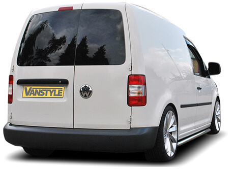 Car Shades Volkswagen Caddy Twin Door 04-15 Full Rear Set
