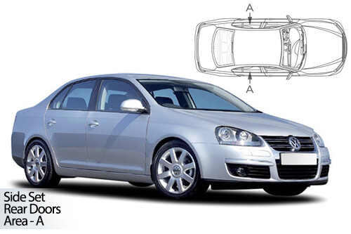 UV Car Shades - Jetta 4dr 06-10 Rear Door Set