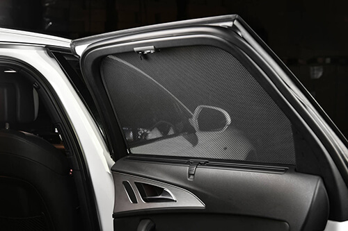 Car Shades Mercedes E Class 4dr 2016> Full Rear Set