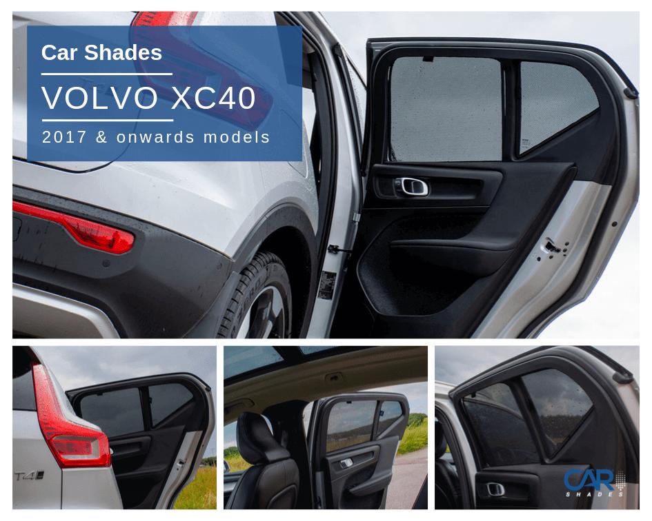 Volvo XC40 2018> Car Shades