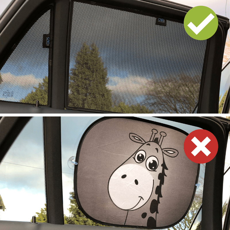 Car Shades Don't Leave Any Dazzling Gaps